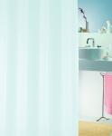 Шторка для ванной (винил) - BIO  голубой