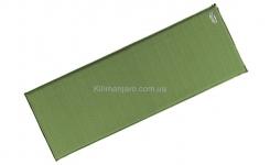 Коврик самонадувающийся Terra Incognita Rest 5 (зелёный)