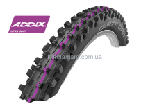 Покрышка 27.5x2.35 650B (60-584) Schwalbe DIRTY DAN Downhill Evolutoin B/B-SK HS417 Addix U-Soft 2x67EPI