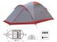 Экспедиционная палатка Tramp Mountain 4