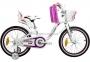 Велосипед VNC 16 Miss 1619-FA-WP , 22см бело-розовый
